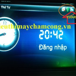 may cham cong online